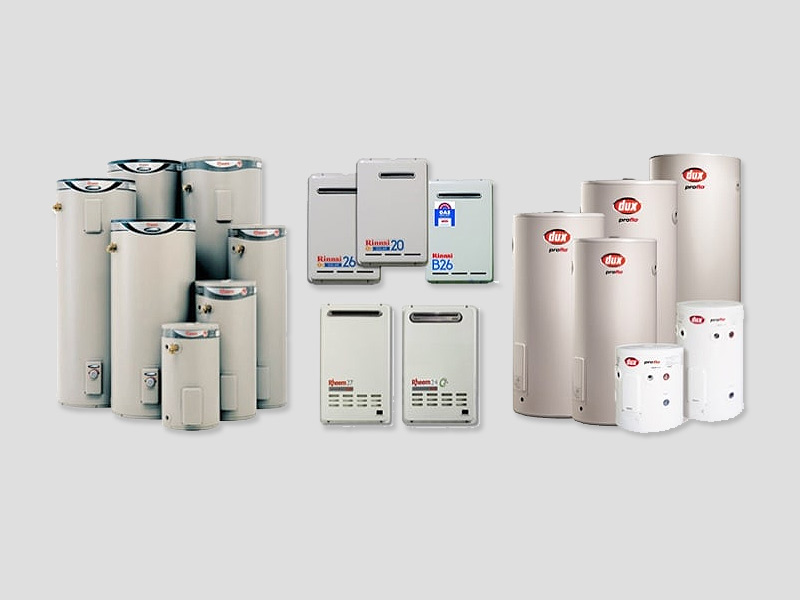 Hot Water Systems - different models