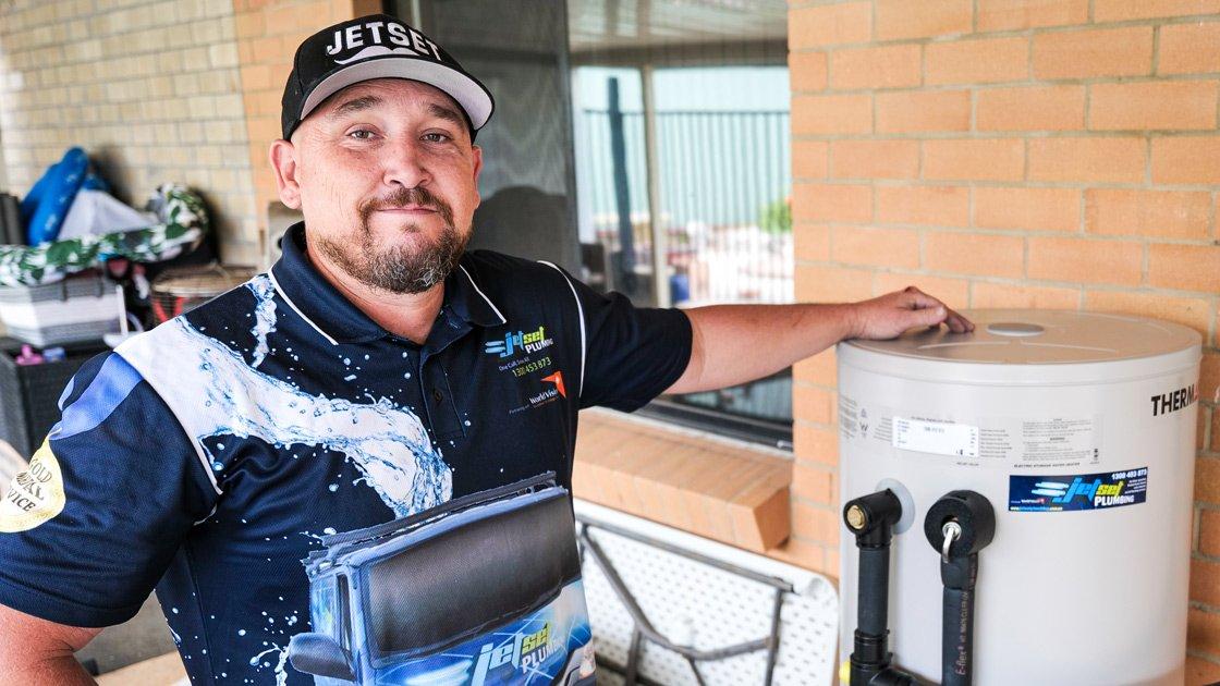 Hot water system plumber in Brisbane